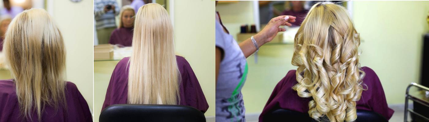 Haarverlängerung mit unseren Ep-Extensions