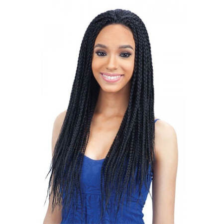 Freetress Equal Synthetic Lace Front Wig - Box Braid