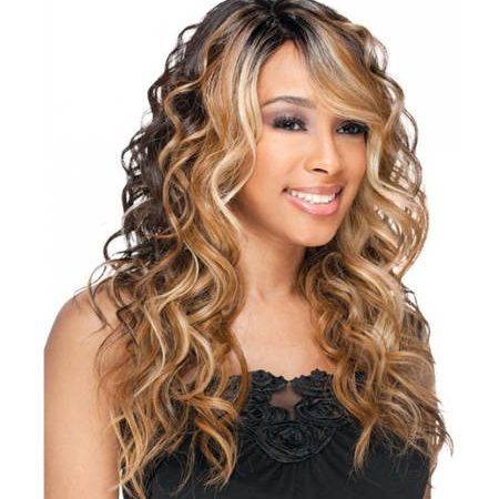 Freetress Equal Synthetic hair lace front natural hairline wig - Bently