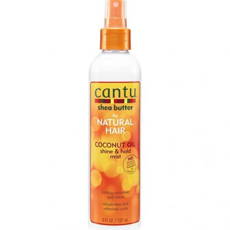 Cantu for natural hair coconut oil shine & hold mist