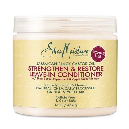Shea Moisture- Jamaican Black Castor Oil Strengthn & Restore- Leave-in Conditioner