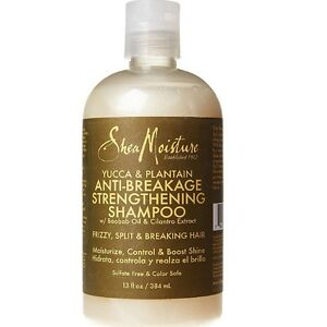 Shea Moisture Yucca & Plantain Anti-Breakage Strenthening Shampoo