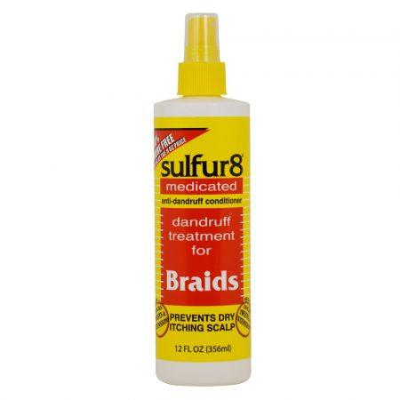 sulfur8 anti dandruff for Braids