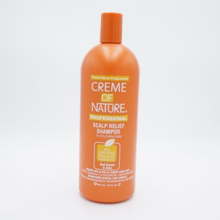 Creme of Nature Professional Scalp Relief Shampoo Red Clover & Aloe 946ml
