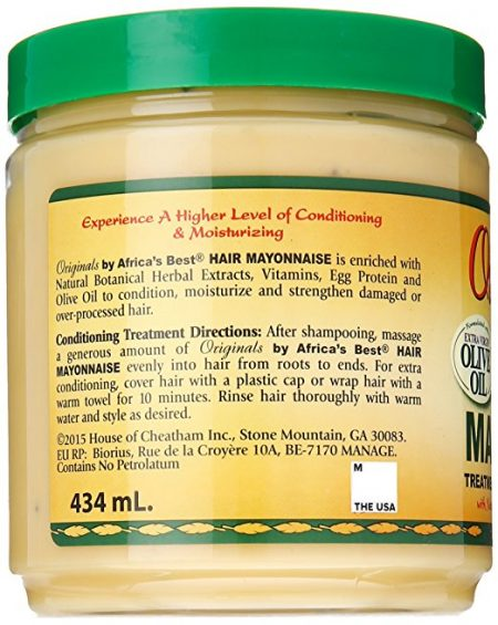 Africa's Best Organics Hair Mayonnaise